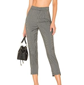 Lovers + Friends Young Professional Check Trousers